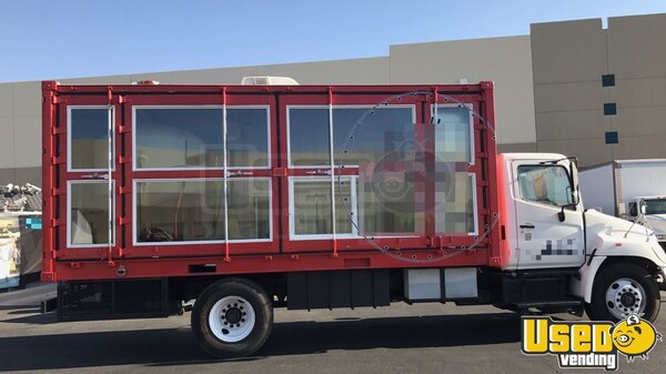 2007 Hino 165 Food Truck Nevada Diesel Engine for Sale