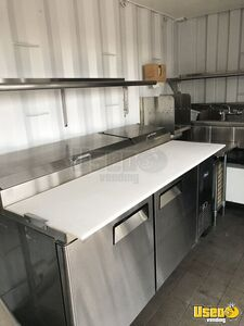 2007 Hino 165 Food Truck Prep Station Cooler Nevada Diesel Engine for Sale