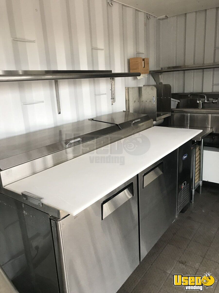 2007 Hino 165 Food Truck Prep Station Cooler Nevada Diesel Engine for Sale - 7