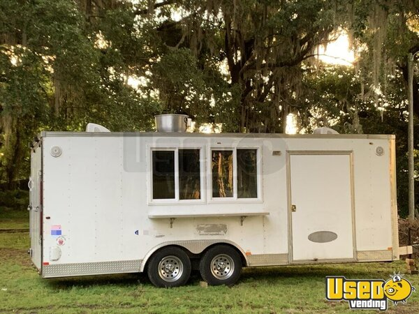 2007 Interstate Kitchen Food Trailer Florida for Sale