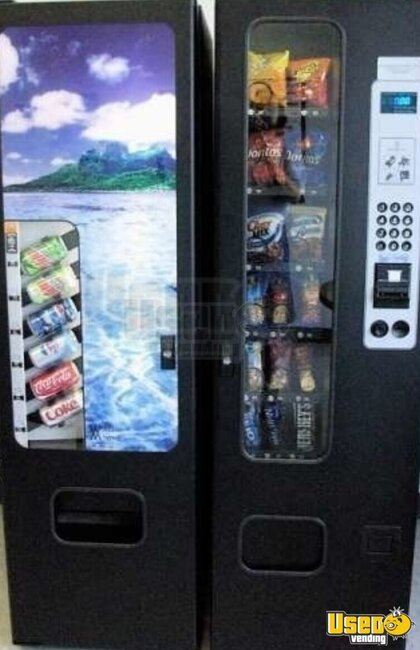2007 Seabreeze Ams Combo Vending Machine New Jersey for Sale