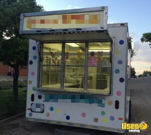 2007 Shaved Ice Concession Trailer Snowball Trailer Air Conditioning Kansas for Sale