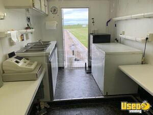 2007 Shaved Ice Concession Trailer Snowball Trailer Awning Kansas for Sale