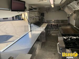 2007 W42 Step Van Barbecue Kitchen Food Truck All-purpose Food Truck Exterior Customer Counter Virginia Gas Engine for Sale