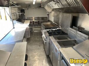 2007 W42 Step Van Barbecue Kitchen Food Truck All-purpose Food Truck Floor Drains Virginia Gas Engine for Sale