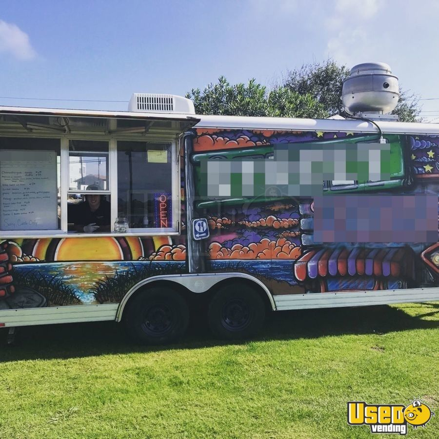 8' x 20' Food Concession Trailer for Sale in North Carolina!!!
