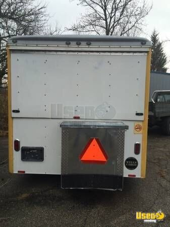 2007 Wells Cargo All-purpose Food Trailer Prep Station Cooler Ohio for Sale - 4