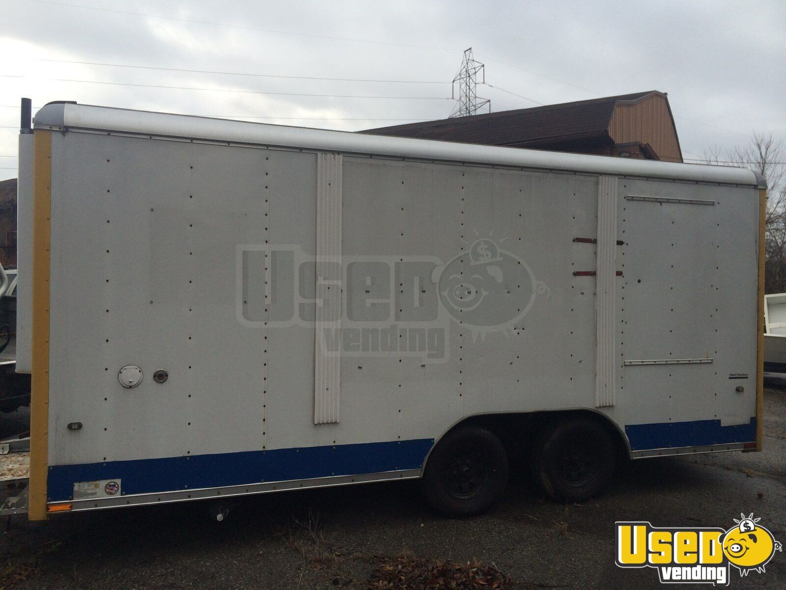 2007 Wells Cargo All-purpose Food Trailer Refrigerator Ohio for Sale - 3