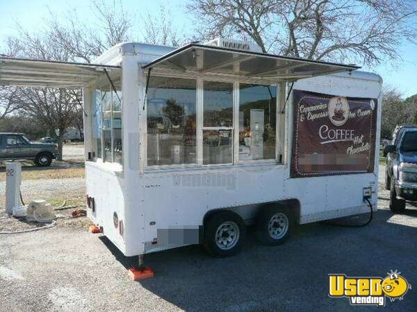 Coffee And Ice Cream Concession Trailer For Sale In Texas Turnkey