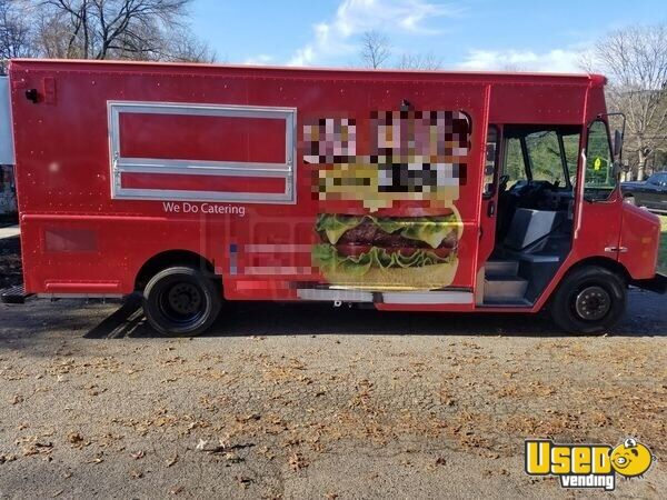 2007 Workhorse Kitchen Food Truck All-purpose Food Truck Concession Window New Jersey Gas Engine for Sale - 2