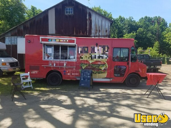 2007 Workhorse Kitchen Food Truck All-purpose Food Truck New Jersey Gas Engine for Sale