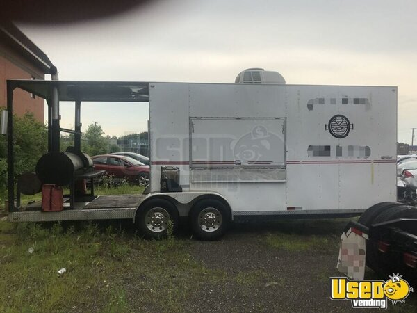 2008 Bbq Concession Trailer Kitchen Food Trailer Illinois for Sale