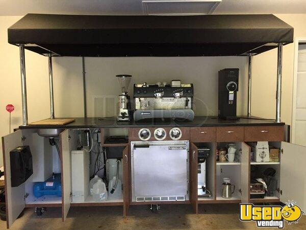 Mobile Espresso Kiosk Coffee Cart For Sale In North Carolina