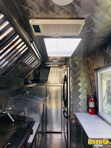 2008 Chevy Express G3500 Food Truck Floor Drains Indiana Gas Engine for Sale