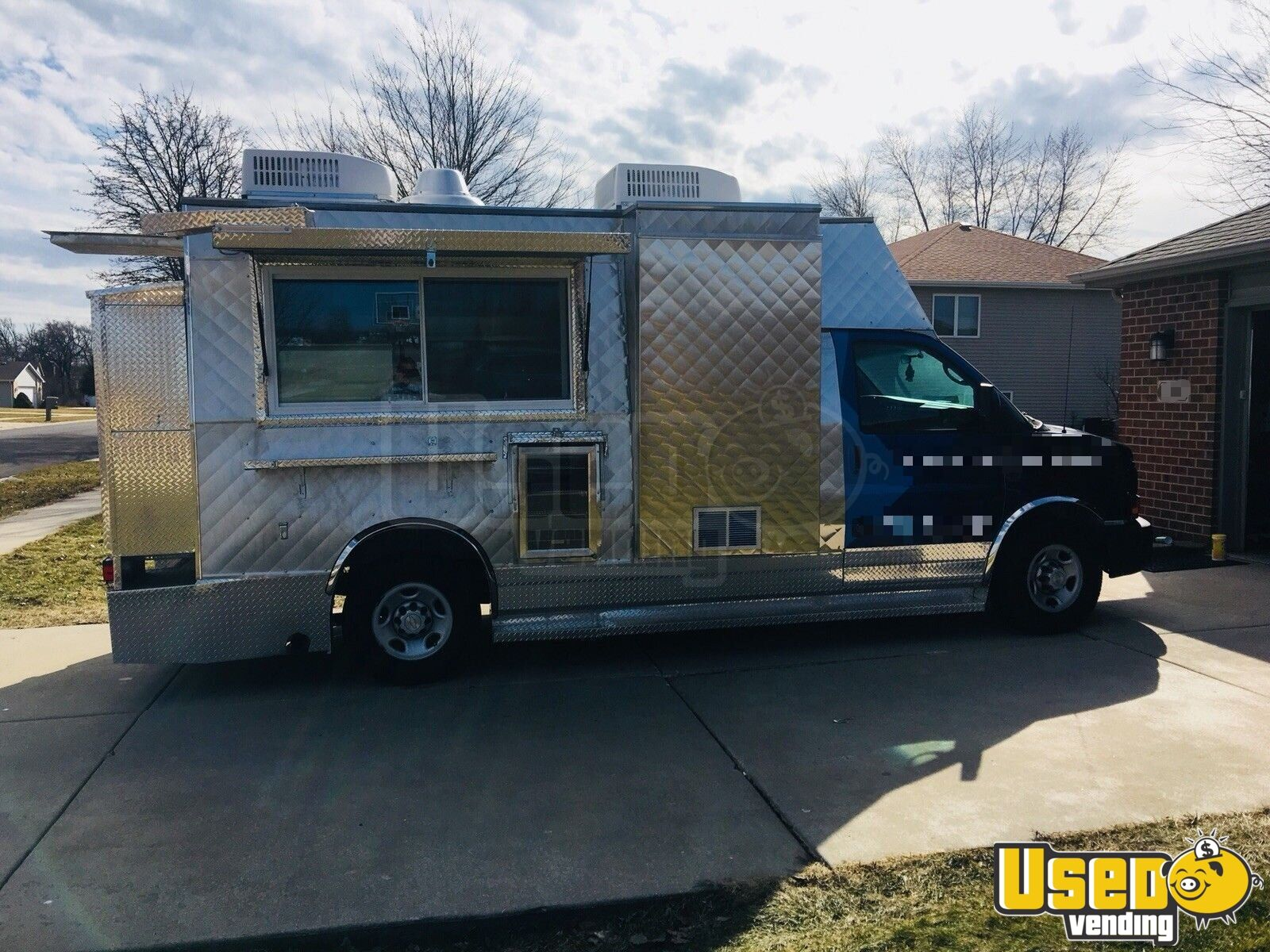 chevy food truck used food truck for sale in indiana. Black Bedroom Furniture Sets. Home Design Ideas