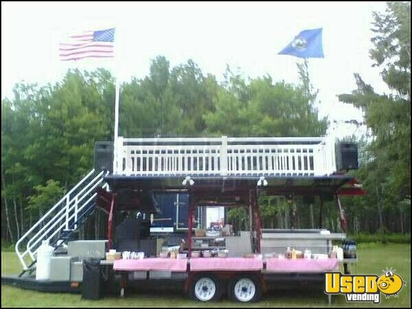 2008 Custom Barbecue Food Trailer New Hampshire for Sale