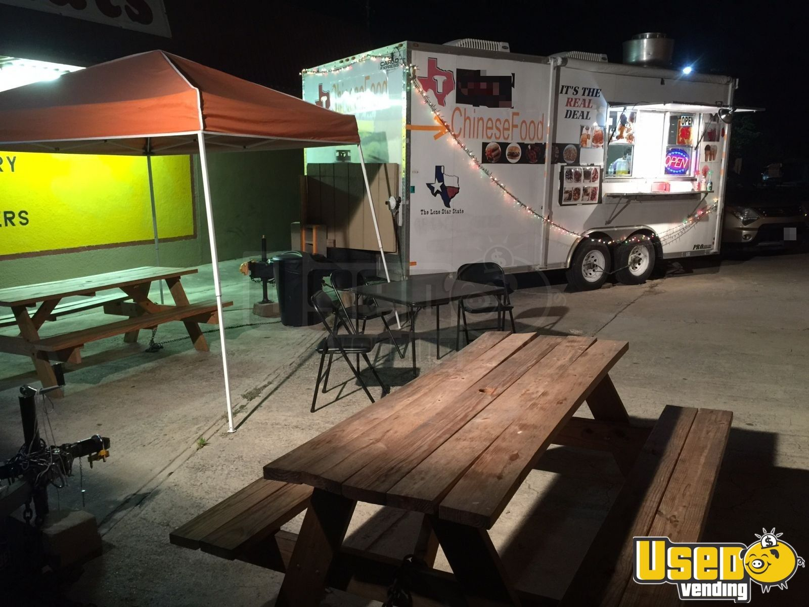 2008 Food Concession Trailer Kitchen Food Trailer Air Conditioning Texas for Sale - 2