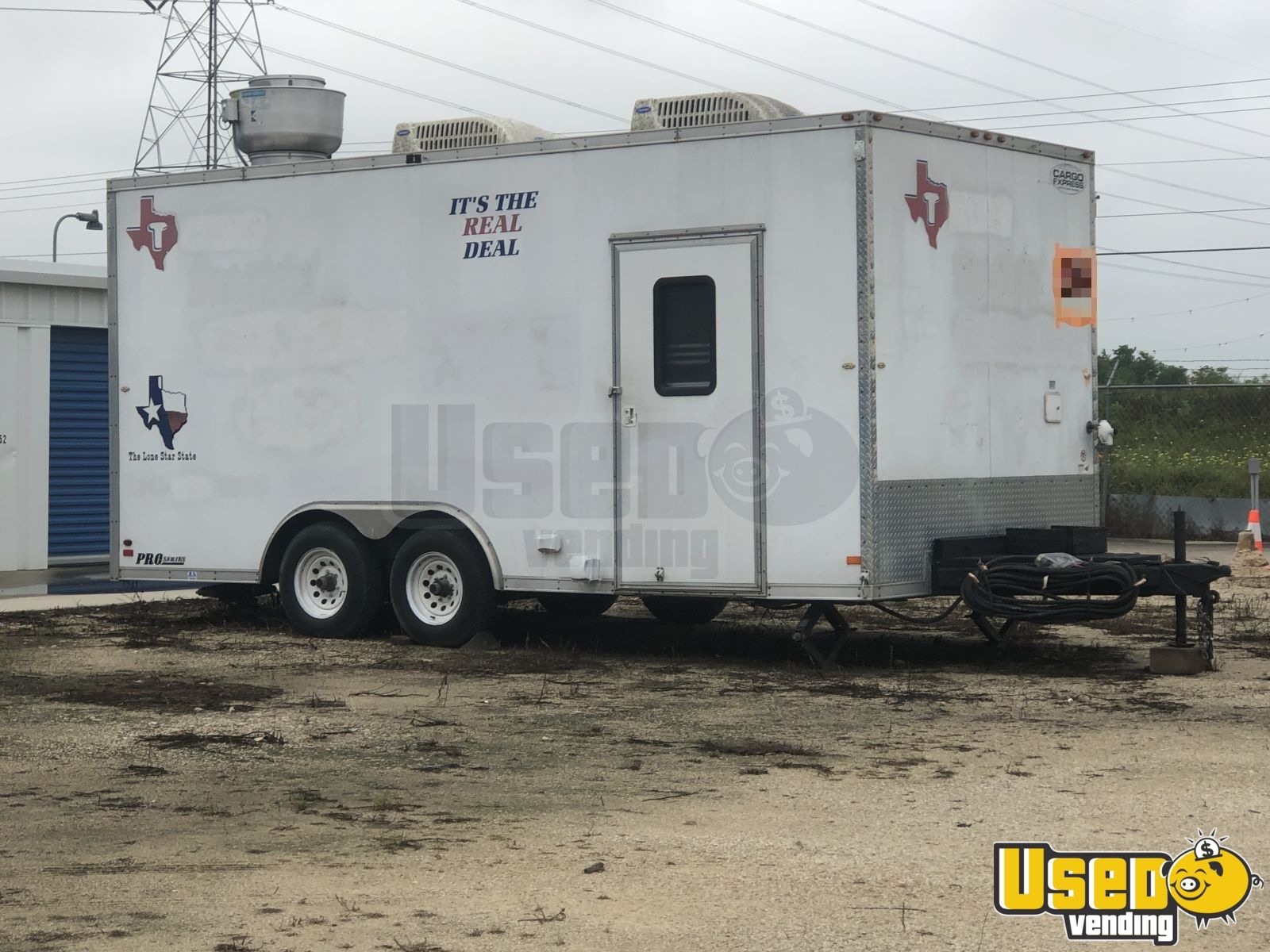 2008 Food Concession Trailer Kitchen Food Trailer Awning Texas for Sale - 6