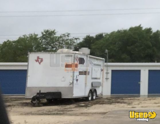 2008 Food Concession Trailer Kitchen Food Trailer Concession Window Texas for Sale - 3
