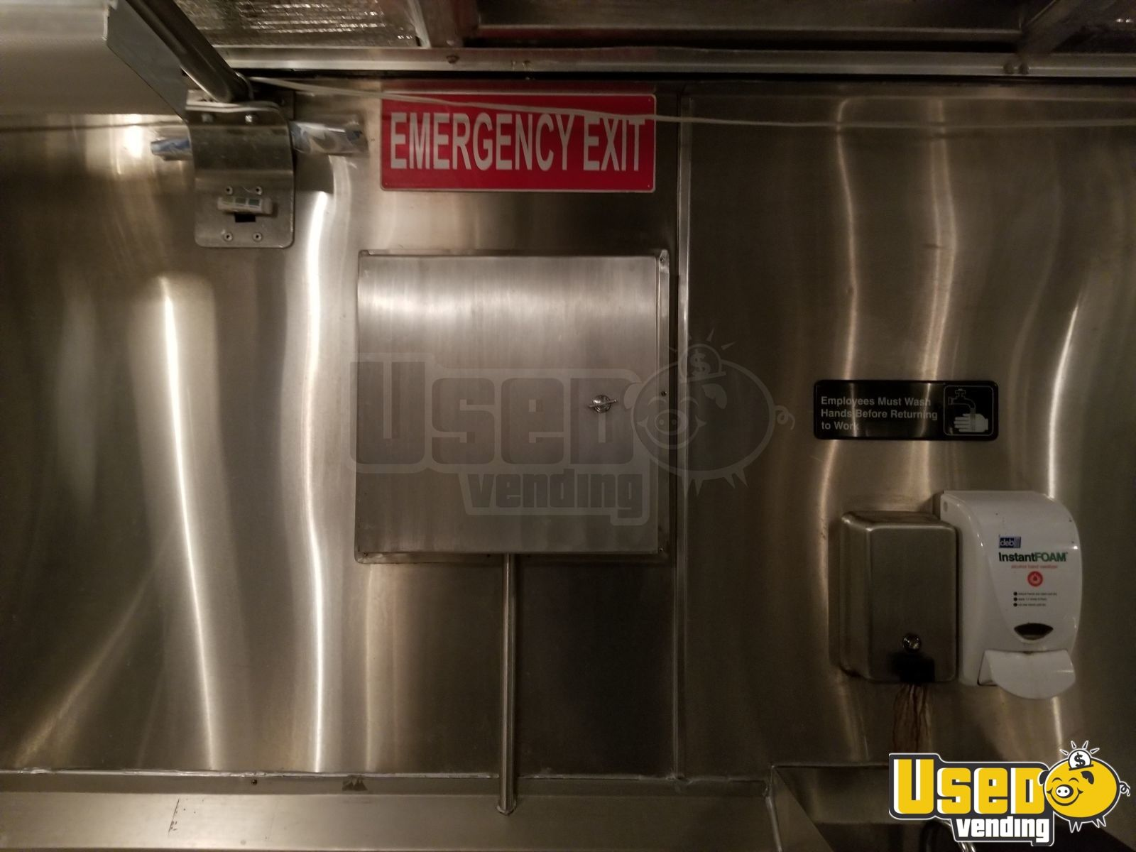 2008 Freightliner Food Truck Water Tank Connecticut Diesel Engine for Sale - 23
