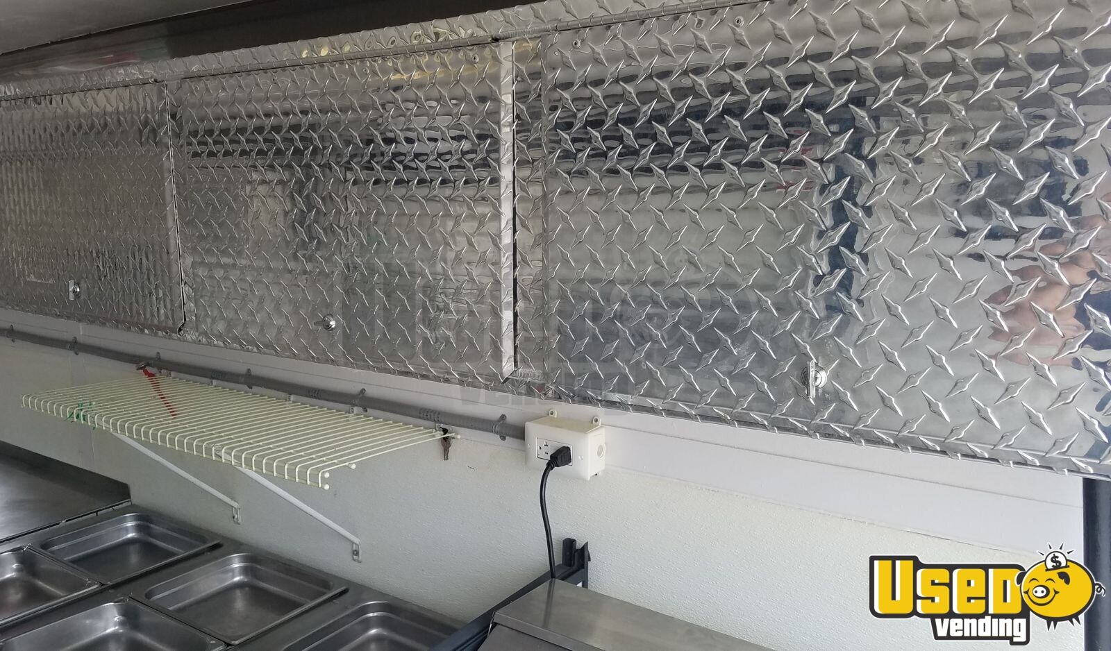 2008 Pace American Cs716ta2 All-purpose Food Trailer Interior Lighting Texas for Sale - 15