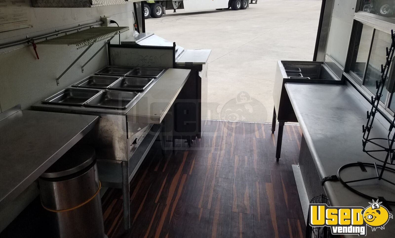 2008 Pace American Cs716ta2 All-purpose Food Trailer Shore Power Cord Texas for Sale - 9