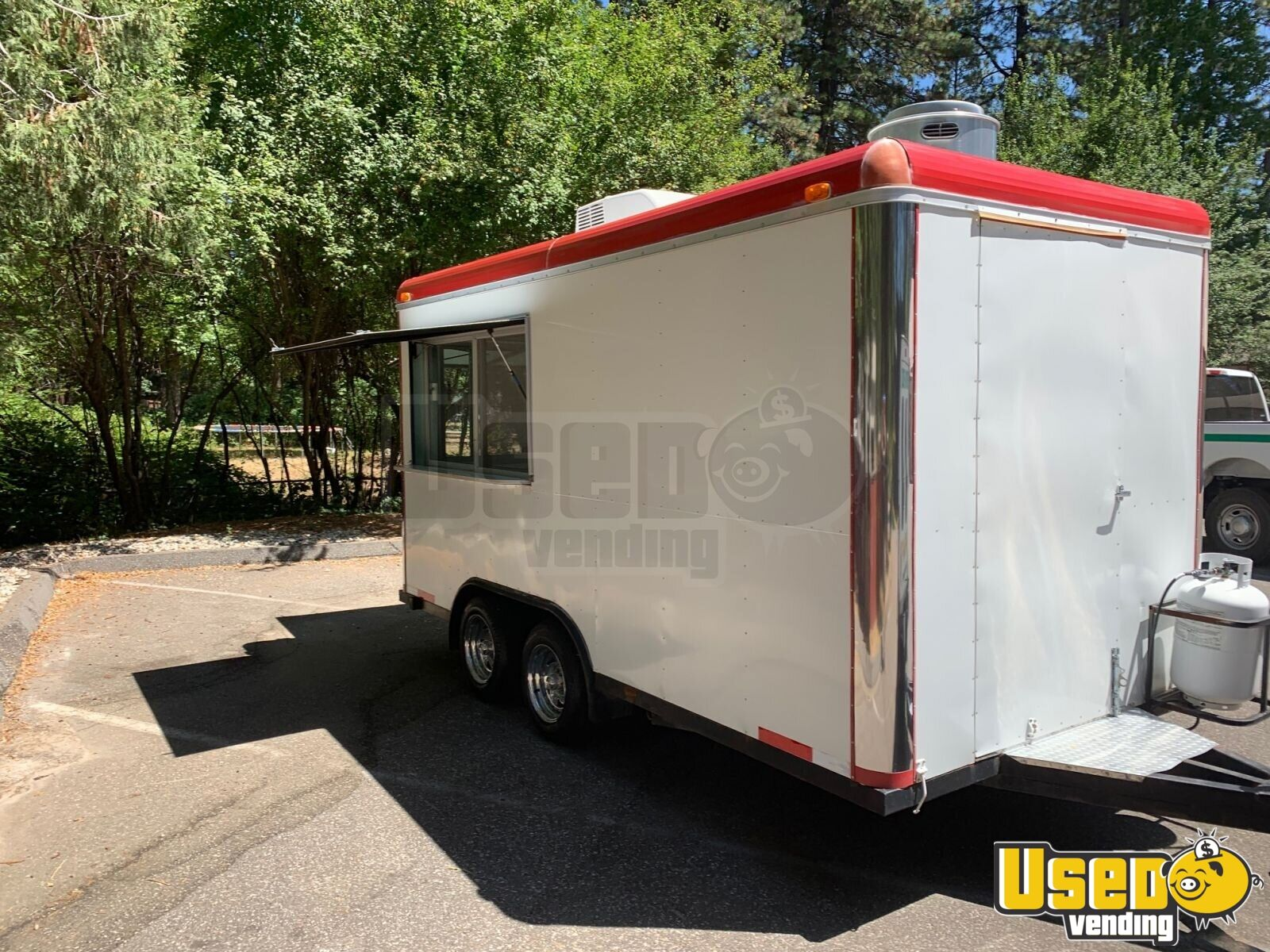 2008 Sanchez Trailers 7x14 All-purpose Food Trailer Air Conditioning California for Sale - 2