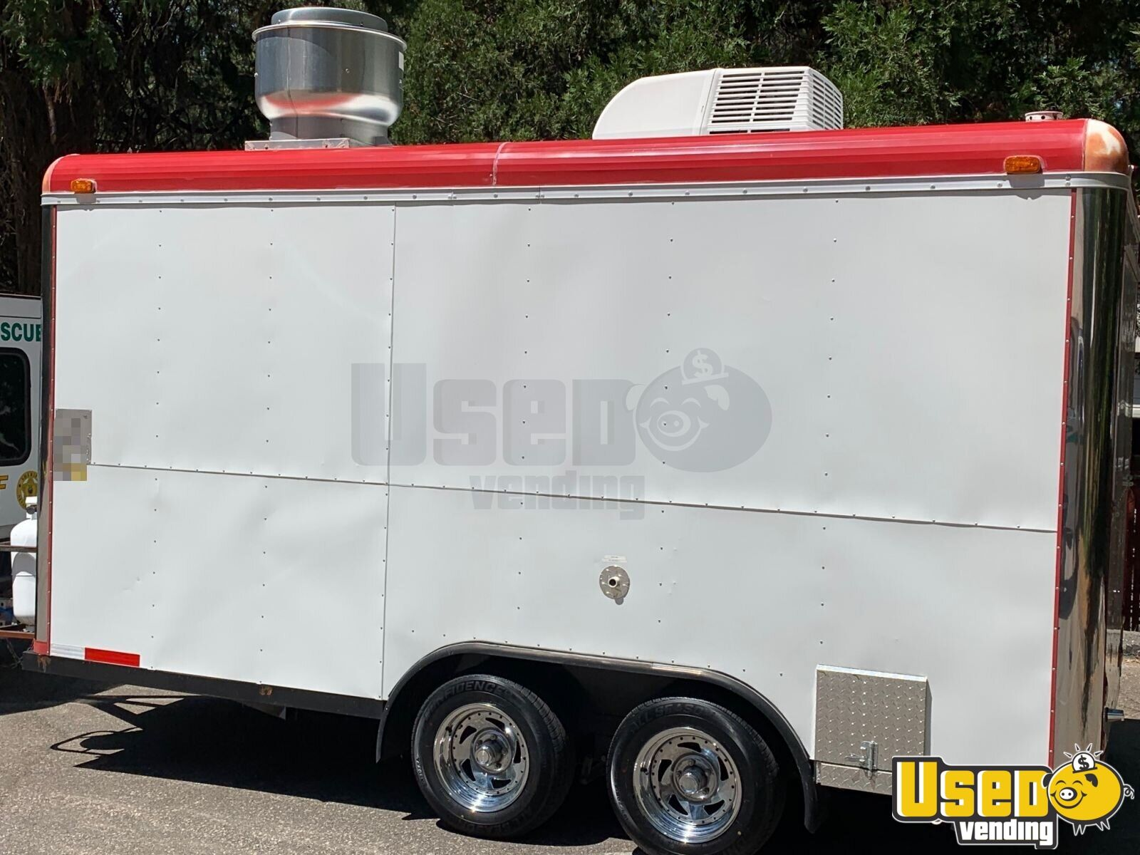 2008 Sanchez Trailers 7x14 All-purpose Food Trailer Cabinets California for Sale - 4