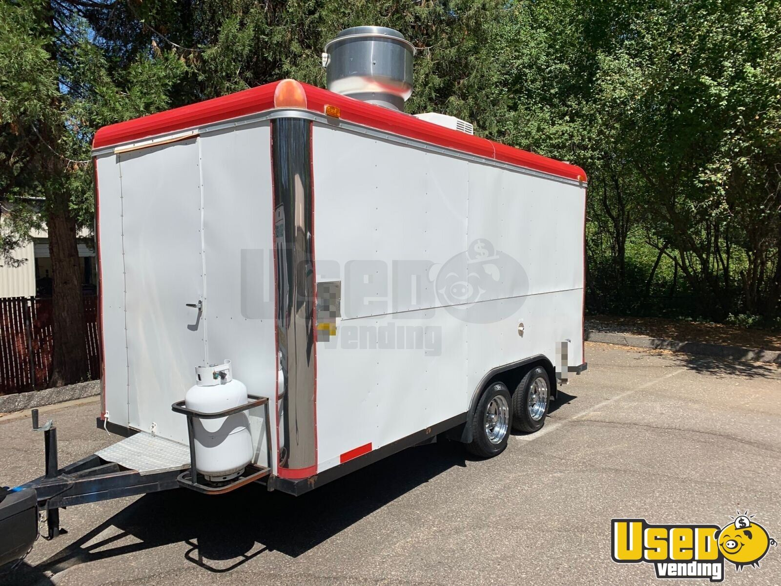 2008 Sanchez Trailers 7x14 All-purpose Food Trailer Concession Window California for Sale - 3