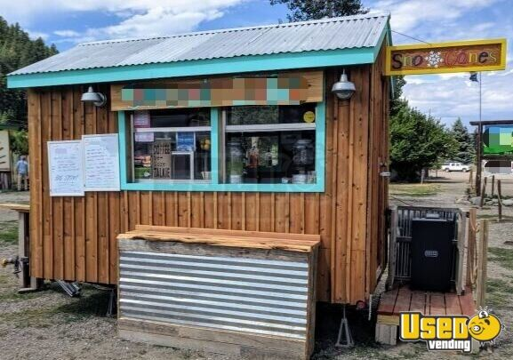 2008 Shaved Ice Concession Trailer Snowball Trailer Colorado for Sale