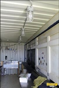 2008 Shipping Container Food Concession Trailer Kitchen Food Trailer Oven Kansas for Sale