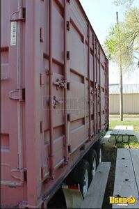 2008 Shipping Container Food Concession Trailer Kitchen Food Trailer Propane Tank Kansas for Sale