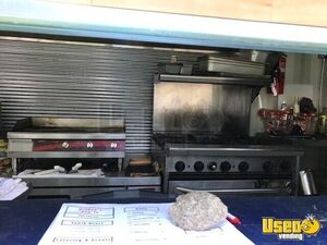 2008 Shipping Container Food Concession Trailer Kitchen Food Trailer Stovetop Kansas for Sale