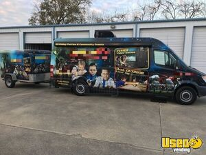 2008 Sprinter 2500 Gaming Truck Party / Gaming Trailer Air Conditioning Louisiana Diesel Engine for Sale
