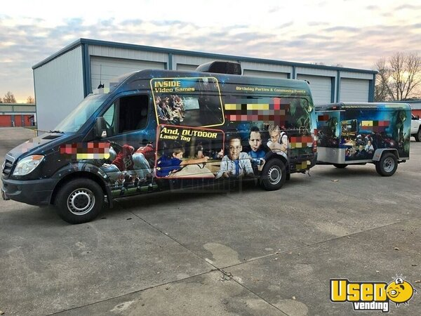 2008 Sprinter 2500 Gaming Truck Party / Gaming Trailer Louisiana Diesel Engine for Sale