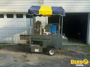 3' x 5' Hot Dog / Food Vending Cart for Sale in New York!!!