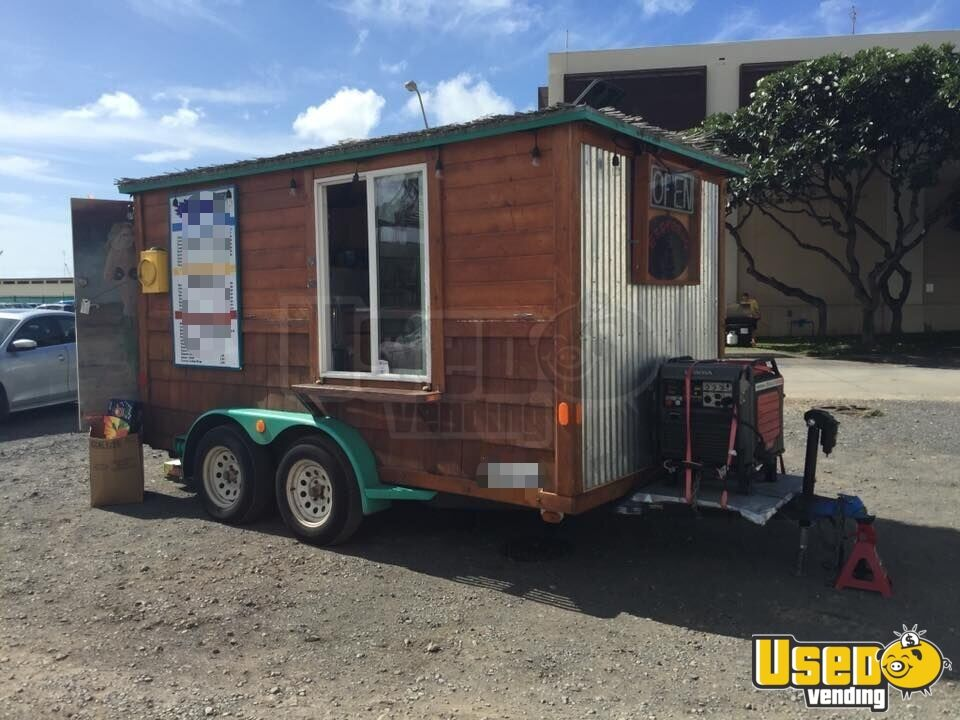 2009 Beverage - Coffee Trailer Cabinets Hawaii for Sale - 3