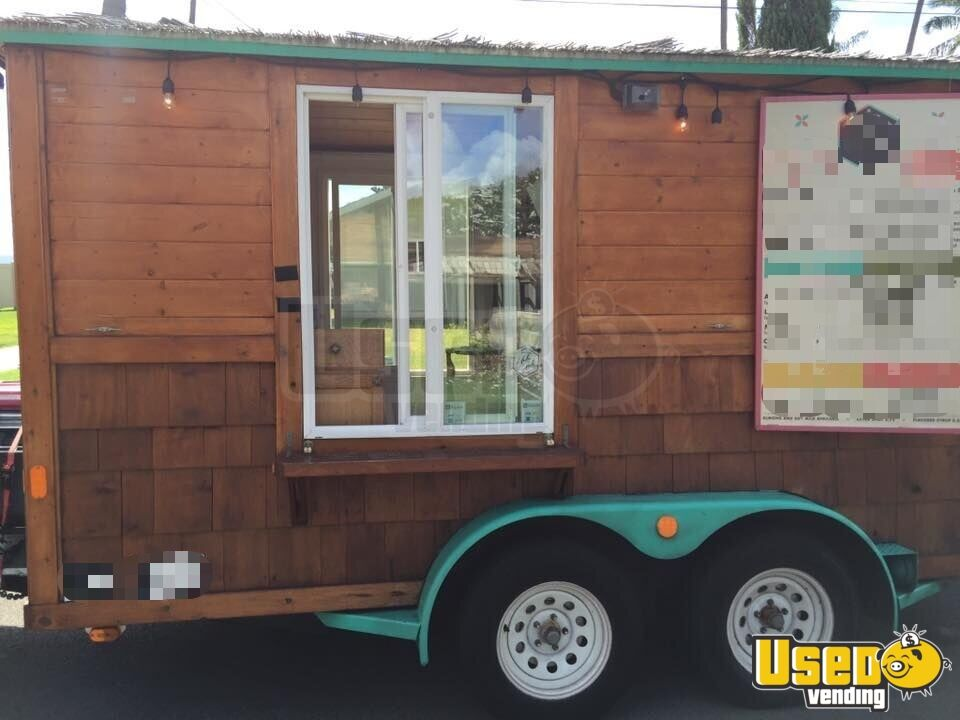 2009 Beverage - Coffee Trailer Refrigerator Hawaii for Sale - 5