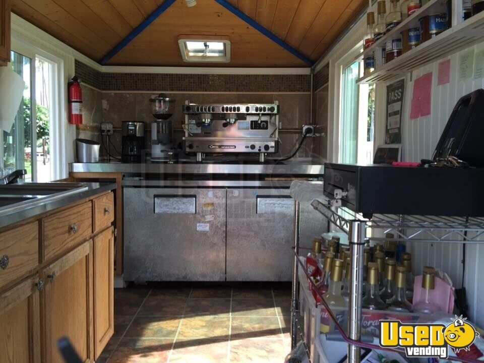 2009 Beverage - Coffee Trailer Work Table Hawaii for Sale - 7