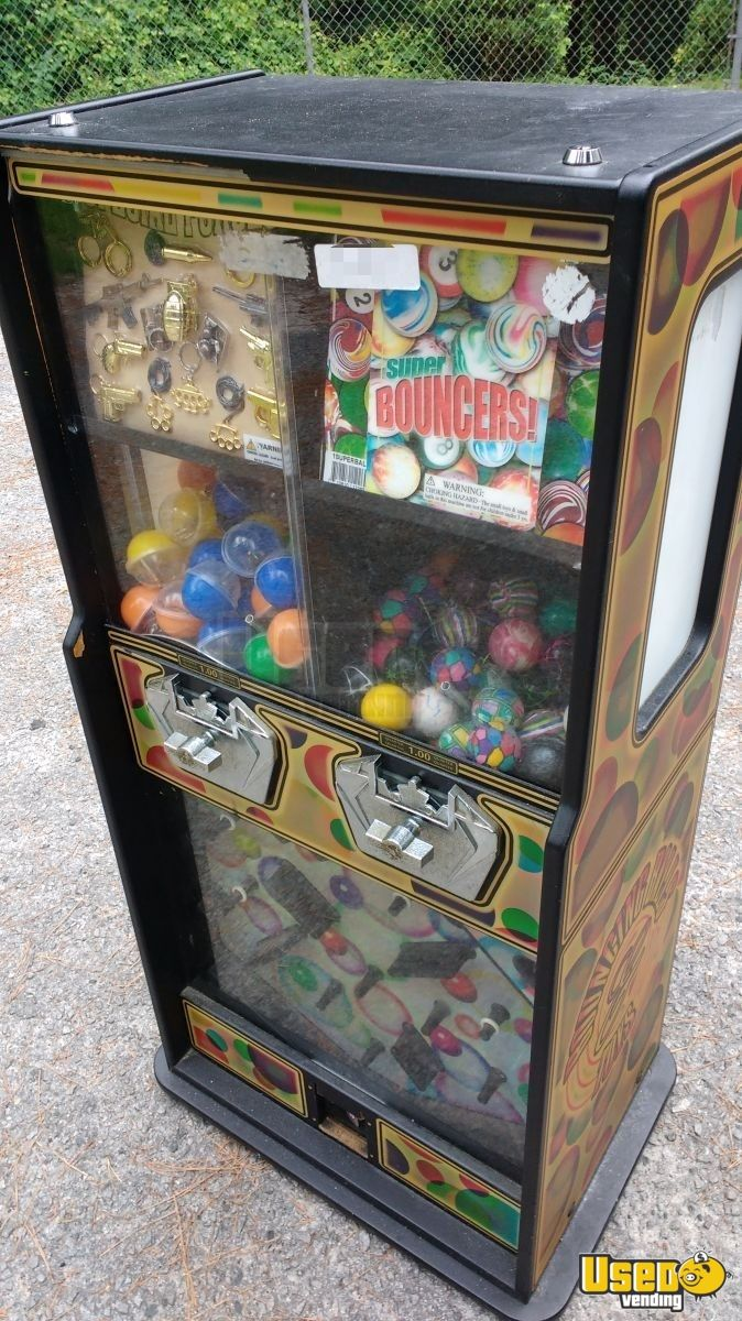 2009 Candy / Capsule Rack Vending Machine 2 North Carolina for Sale - 2