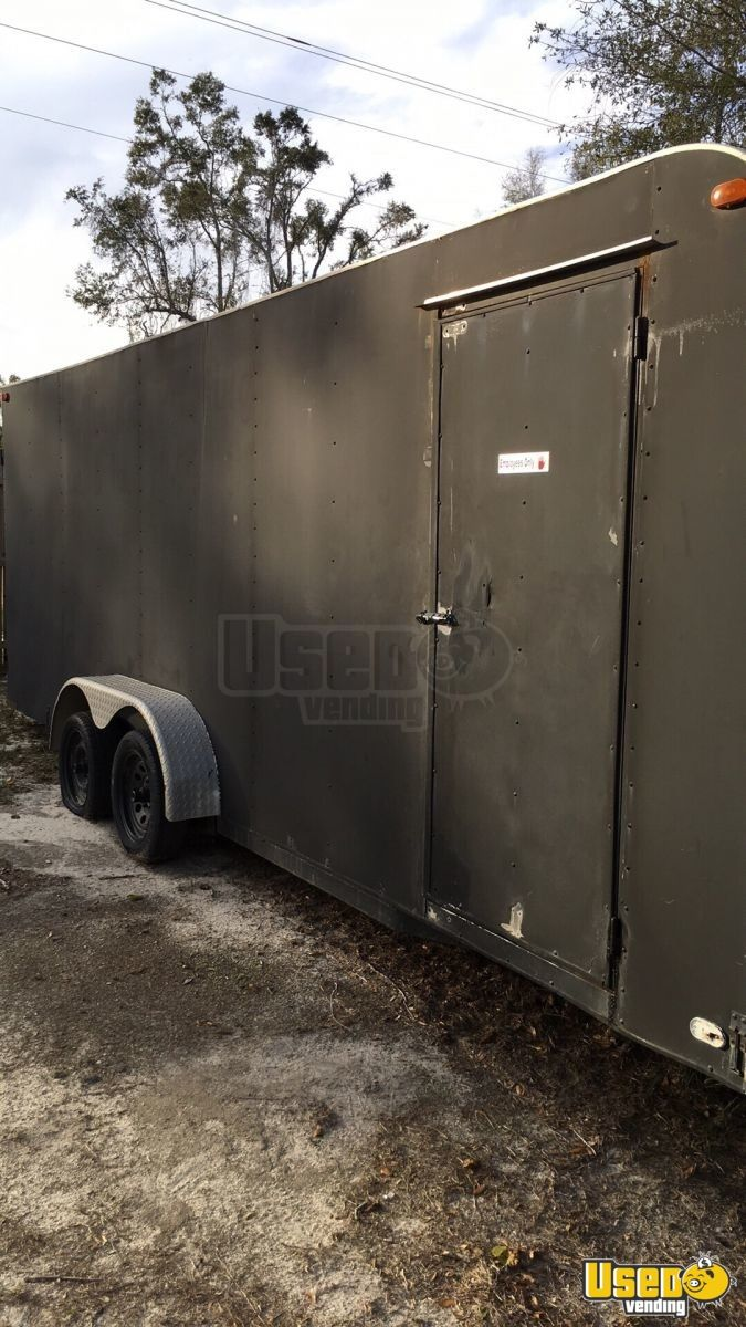 2009 Concession Trailer Air Conditioning Florida for Sale - 2
