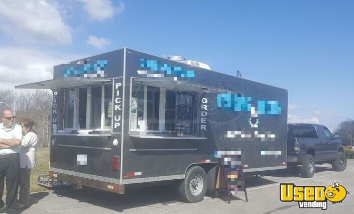 2009 C&w All-purpose Food Trailer Air Conditioning Virginia for Sale - 2