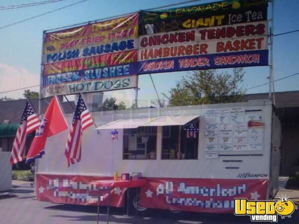 2009 Food Concession Trailer Concession Trailer Tennessee for Sale