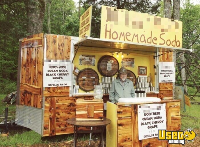 2009 Hillbilly Soda Concession Trailer Concession Window North Carolina for Sale - 3