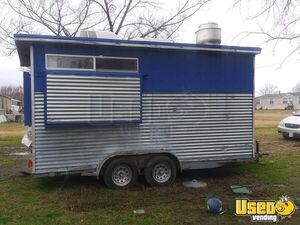 2009 Kitchen Food Trailer Air Conditioning Texas for Sale