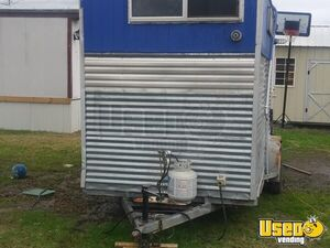 2009 Kitchen Food Trailer Prep Station Cooler Texas for Sale