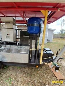 2009 Open Barbecue Smoker Tailgating Trailer Open Bbq Smoker Trailer Double Sink Mississippi for Sale