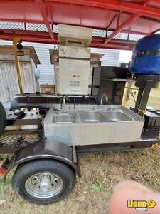 2009 Open Barbecue Smoker Tailgating Trailer Open Bbq Smoker Trailer Hand-washing Sink Mississippi for Sale