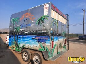 2009 Shaved Ice Concession Trailer Snowball Trailer Concession Window California for Sale