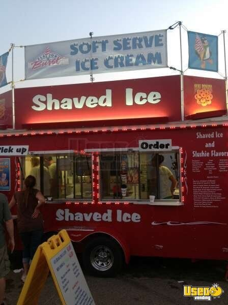 Ice shaved trailer speaking